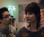 Felipe Rocha e Maria Casadevall em 'Lili, a ex'   Reprodução