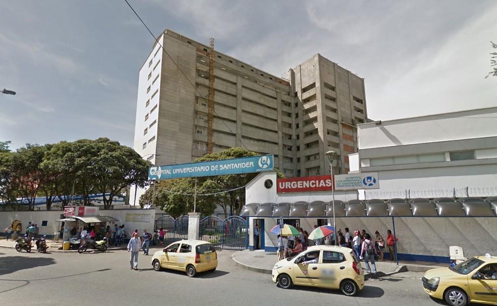 Hospital onde os dólares engolidos foram retirados (Foto: Reprodução/Google Street View)