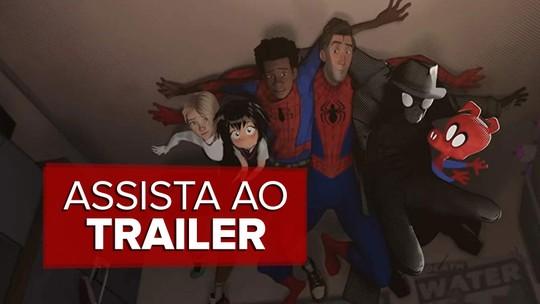 Veja o trailer de 'Homem-Aranha no Aranhaverso'
