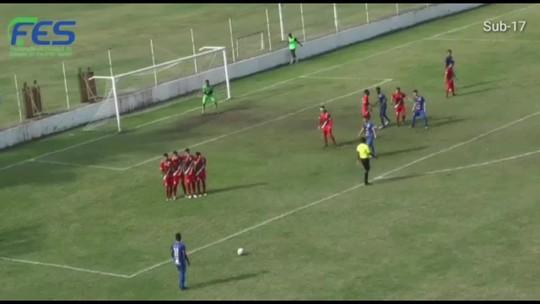 Vitória-ES e Porto Vitória estão na decisão do Campeonato Capixaba Sub-17 2019