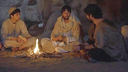 Cena de 'Jesus' (Foto: Divulgação/ Record)