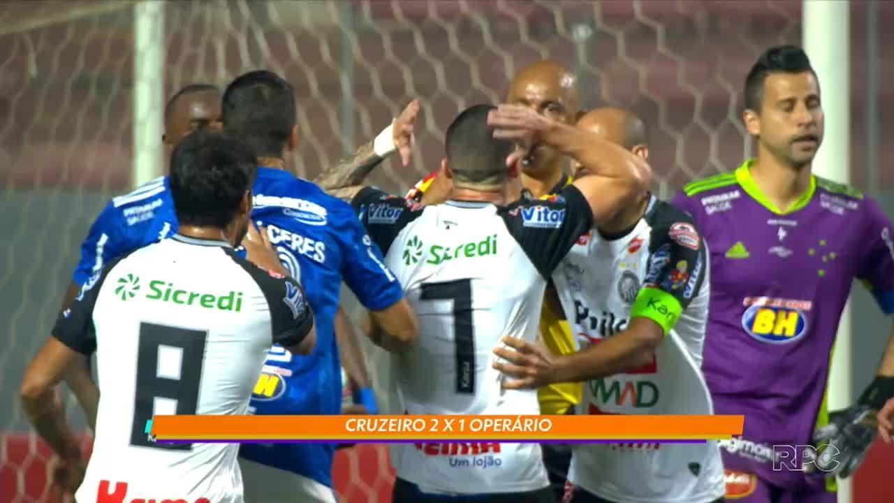 Operário perde para o Cruzeiro e sonho da Série A fica quase impossível