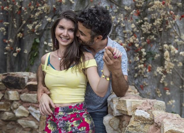 Ao lado de Anderson Di Rizzi, Priscila Assum se destacou no elenco de O Outro Lado do Paraíso (Foto: Divulgação/TV Globo)