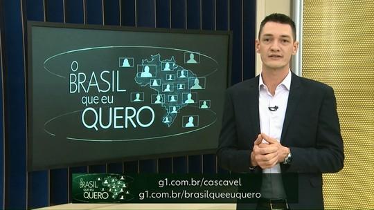 Conte para o Brasil que país você quer para o futuro