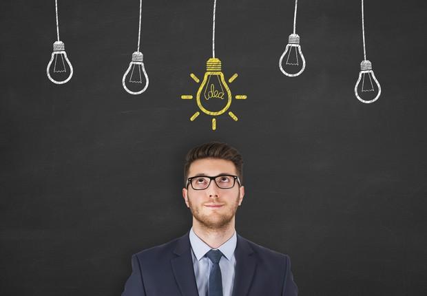 Liderança lâmpadas de ideia (Foto: Thinkstock)