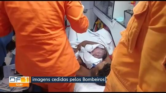 Bebês nascem com a ajuda dos Bombeiros