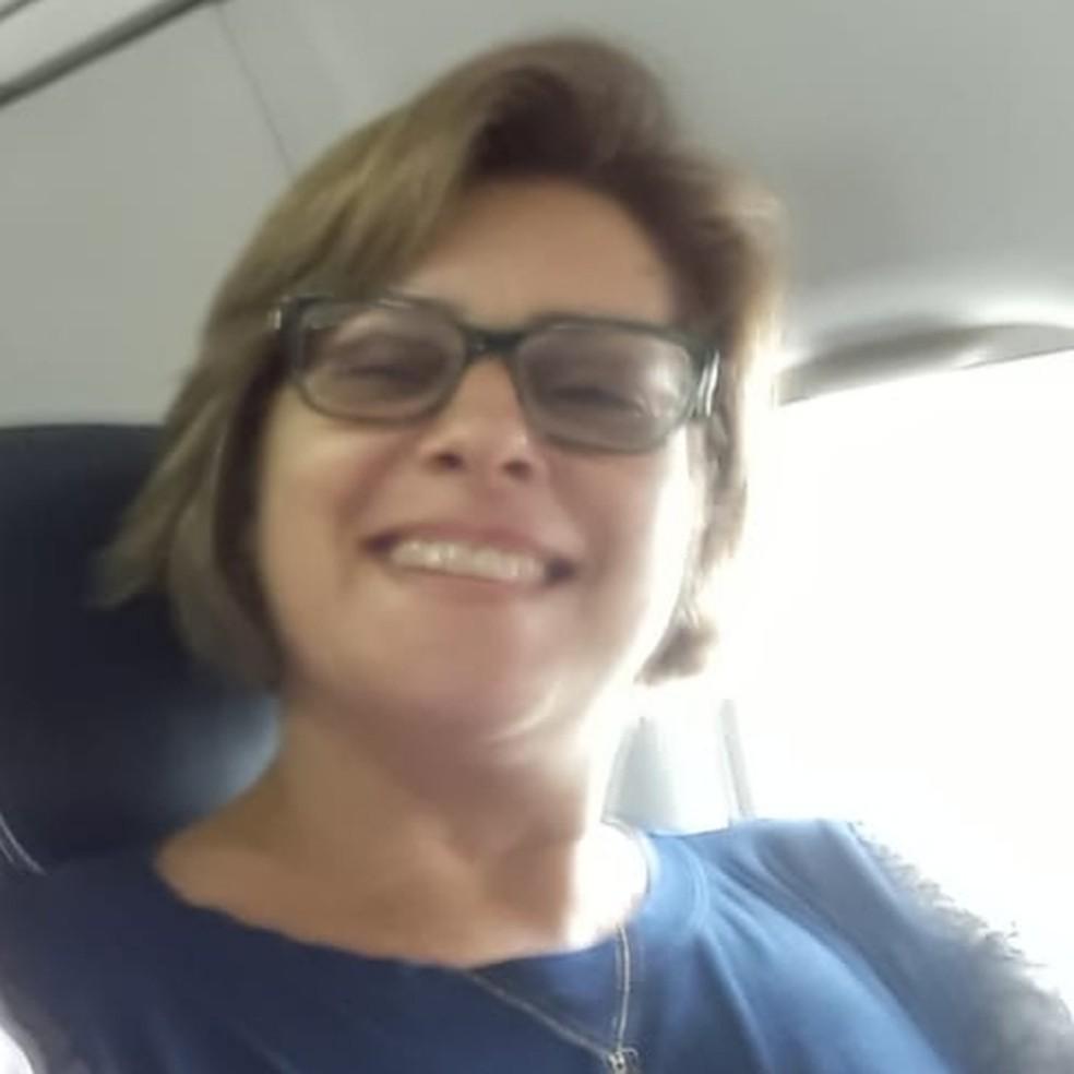 Cláudia Regina Barreto Silva, de 48 anos, morava em Presidente Prudente — Foto: Facebook/Reprodução