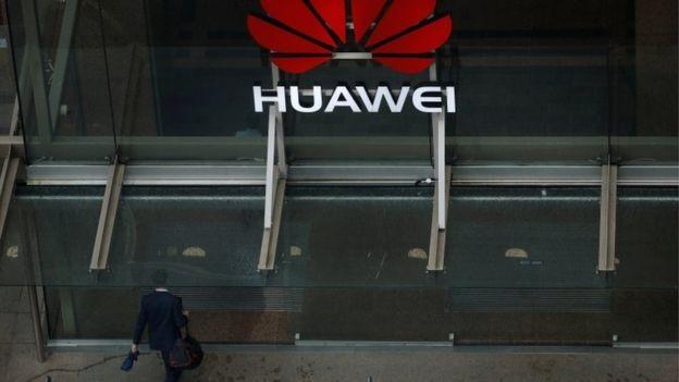 Escritórios da Huawei na Nova Zelândia, um dos países que estão preocupados com a segurança nacional (Foto: Reuters via BBC News Brasil)