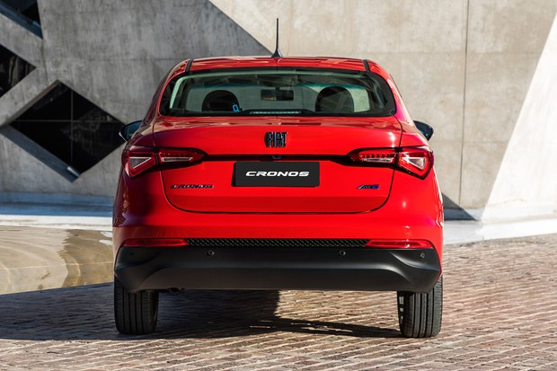 Novo Fiat Cronos (Foto: Divulgação)