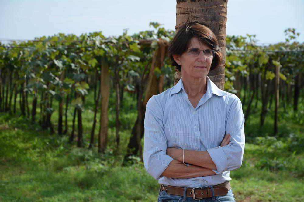 A produtora Hilda Loschi está se estruturando para empregar 50% de mulheres na força de trabalho da sua fazenda (Foto: Divulgação)
