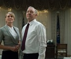 Kevin Spacey e Robin Wright em cena de 'House of Cards' | David Giesbrecht/Netflix