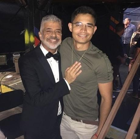 Lulu Santos e Clebson Teixeira (Foto: Reprodução / Instagram )