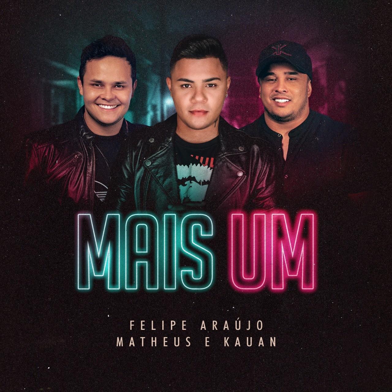 Felipe Araújo promove EP 'Outros 500' com música gravada com Matheus & Kauan