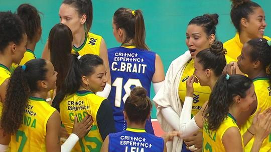Brasil dá o troco do Pan e vence a Argentina na preparação para o Sul-Americano de vôlei feminino