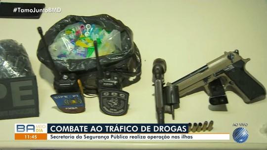 Operação de combate ao tráfico no sul da Bahia termina com dois suspeitos mortos e sete presos