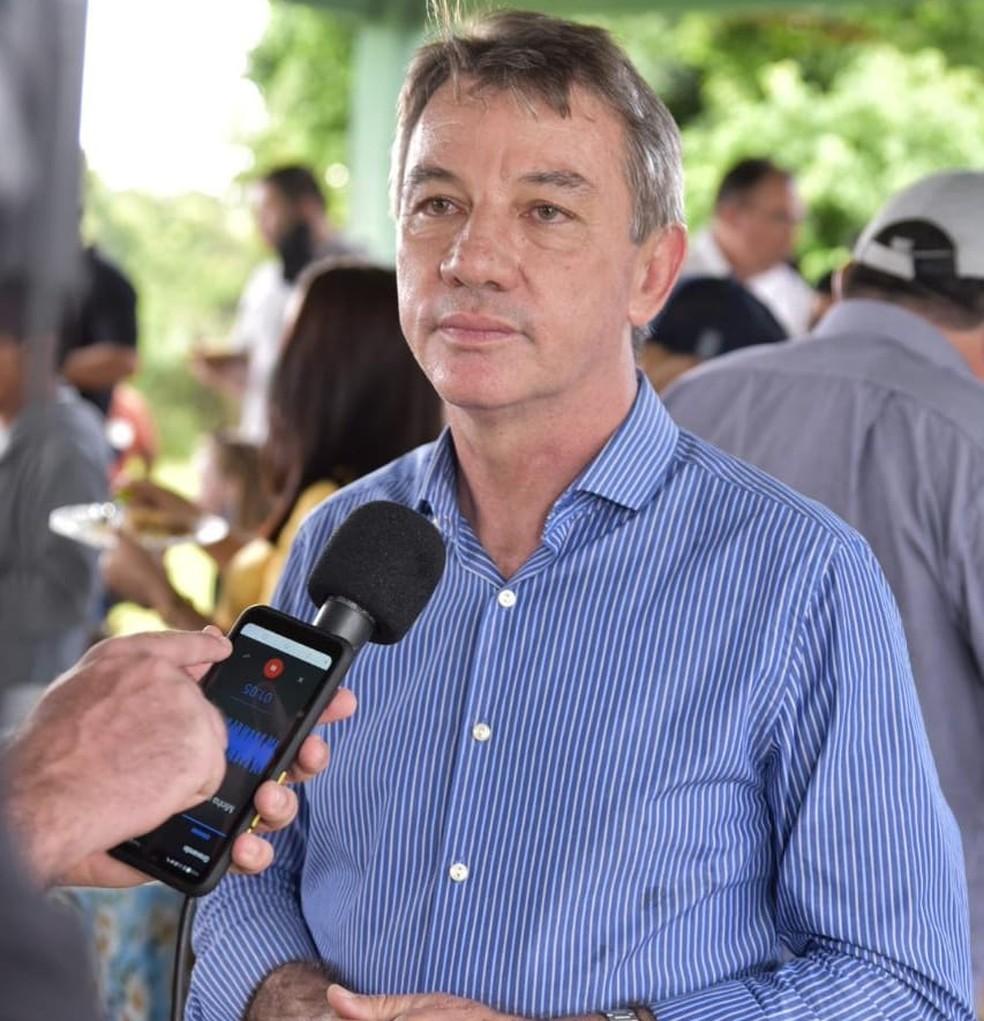 Governador de Roraima, Antonio Denarium — Foto: Secom/Divulgação/Arquivo
