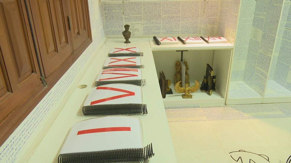 Bruno deixou 14 livros criptografados (Foto: Reprodução/Rede amazônica Acre)