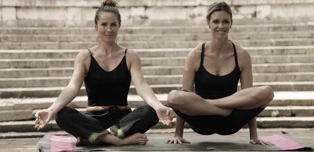 Fernanda Lima viajou até a Índia para conhecer mais sobre a yoga (Foto: Instagram/ Reprodução)