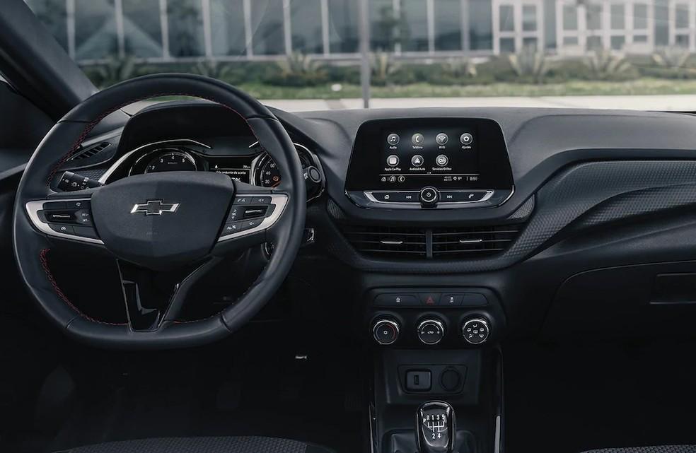 Chevrolet Onix RS — Foto: Divulgação