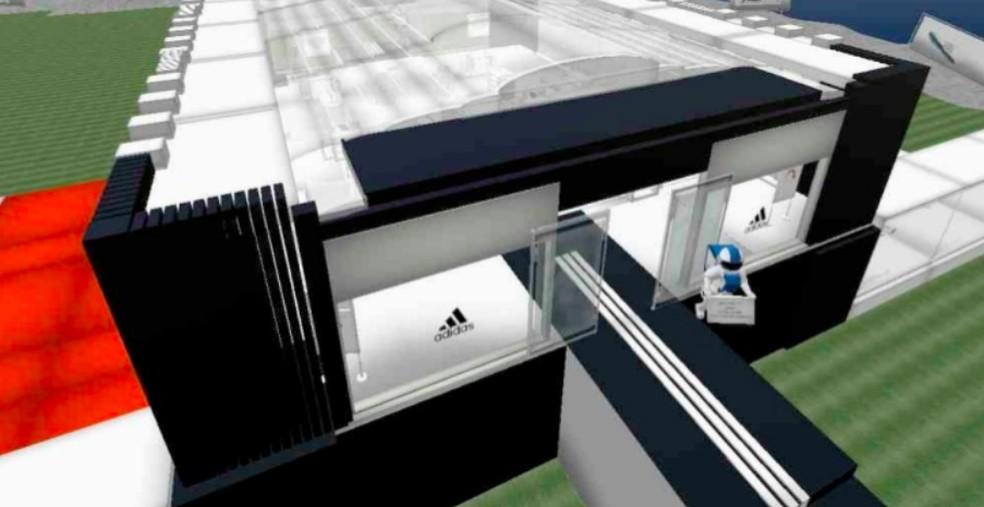 Muitas marcas de peso investiram em Second Life — Foto: Reprodução/Felipe Vinha