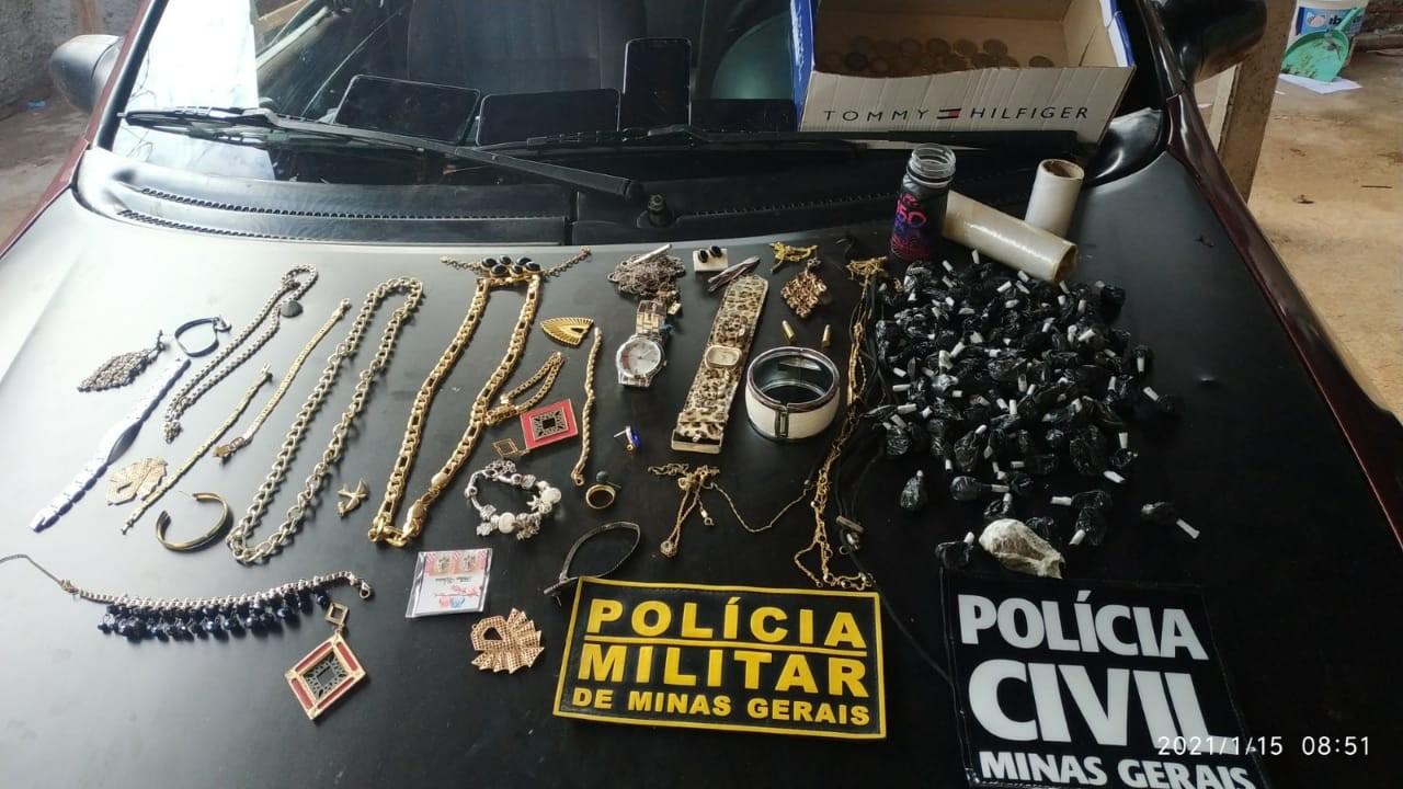 Suspeitas de integrar facção criminosa são presas em operação em Monte Alegre de Minas