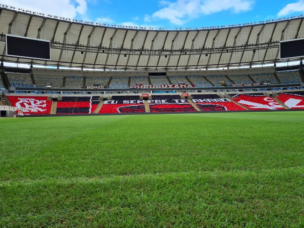 Conmebol vai fazer troca parcial do gramado do Maracanã