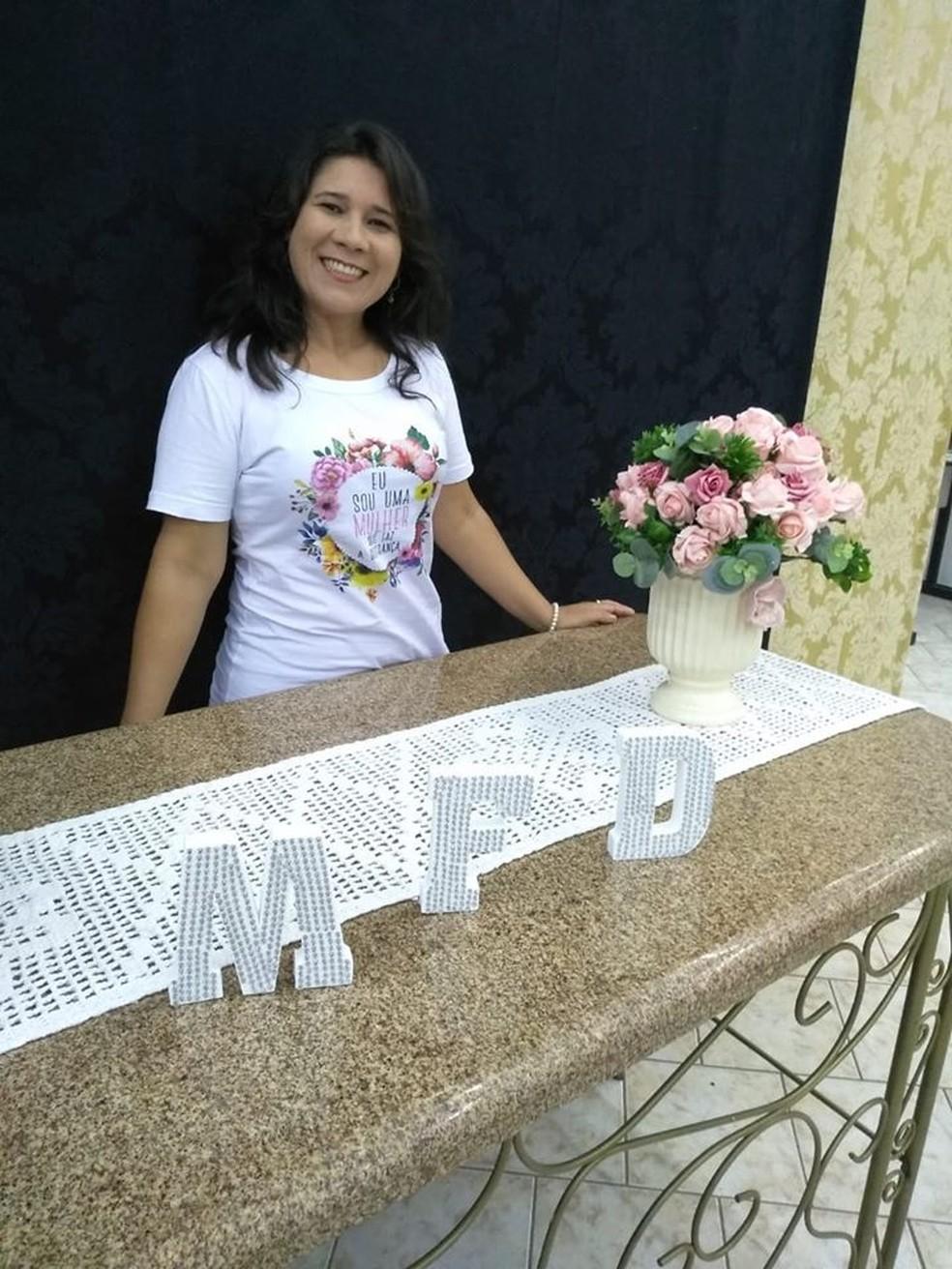 Rosileide Vaz da Silva — Foto: Facebook/Reprodução