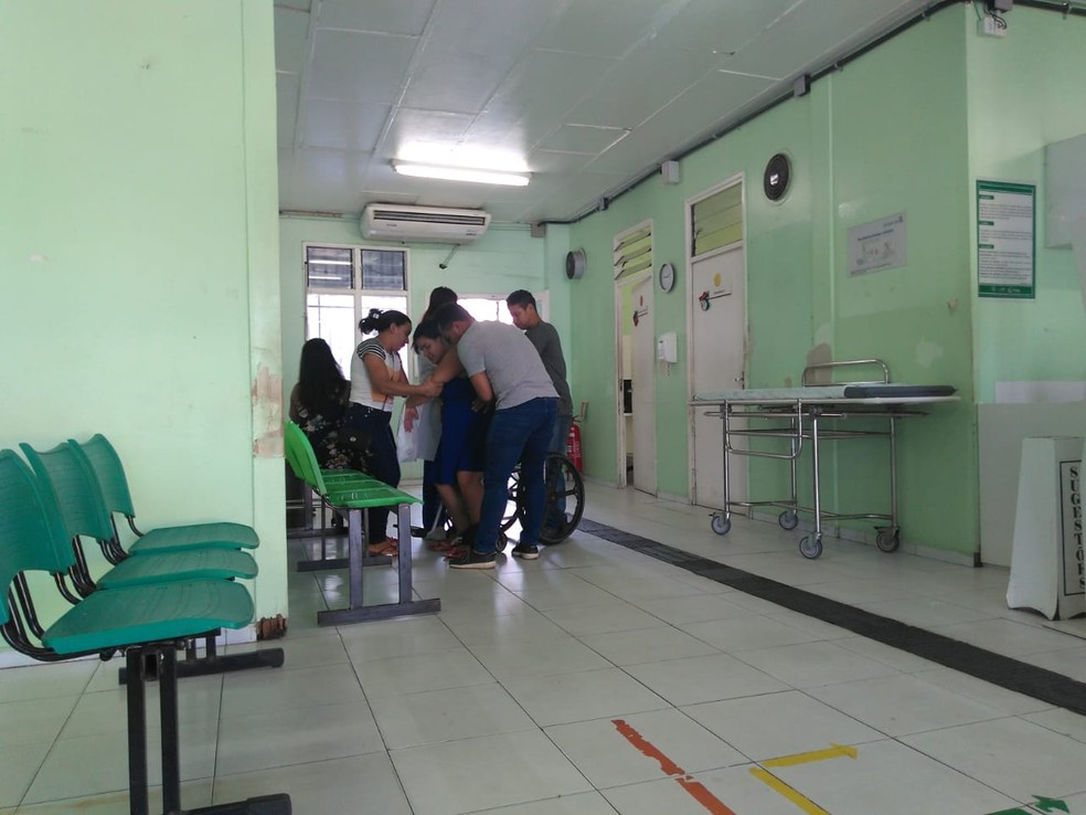Gestantes esperam atendimento na Maternidade Evangelina Rosa — Foto: Gilcilene Araújo/G1 Piauí