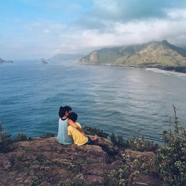 Danni Suzuki e o filho, Kauai (Foto: Reprodução/Instagram)