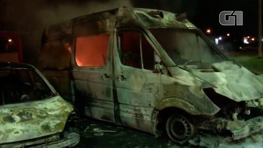 Secretaria de Segurança do RN 'avalia' se ataques incendiários têm relação com facções criminosas