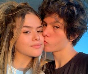 Maisa com o namorado, Nicholas | Reprodução