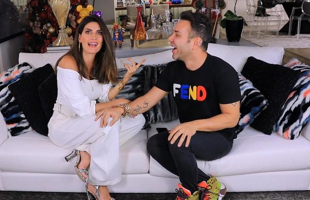 Matheus Mazzafera e Isabella Fiorentino (Foto: reprodução)