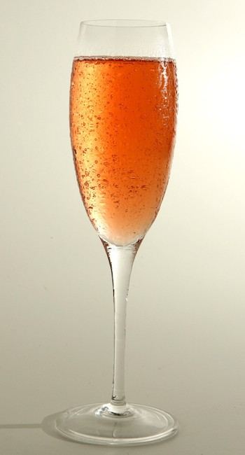 Espumante rosé na degustação comandada por Luiz Barros