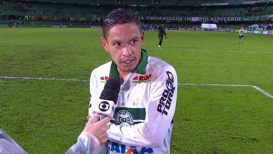 """Carlos Eduardo diz que empate com o CSA frustra os planos: """"A gente queria a vitória hoje"""""""