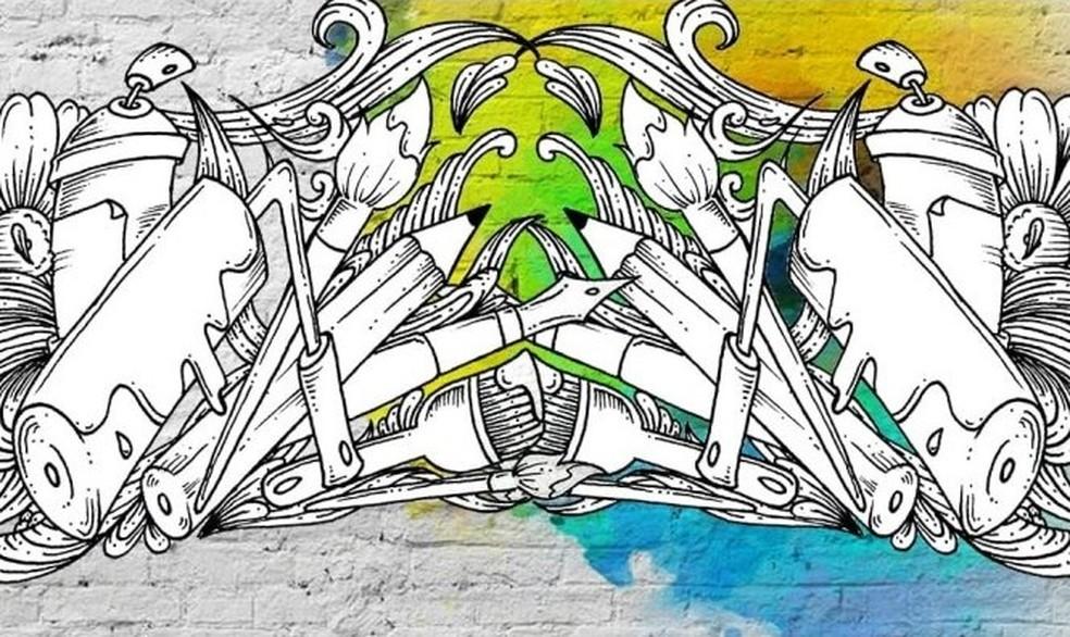"""Exposição de grafites """"Riscos & Rabiscos"""" entra em cartaz em São Luís — Foto: Divulgação"""
