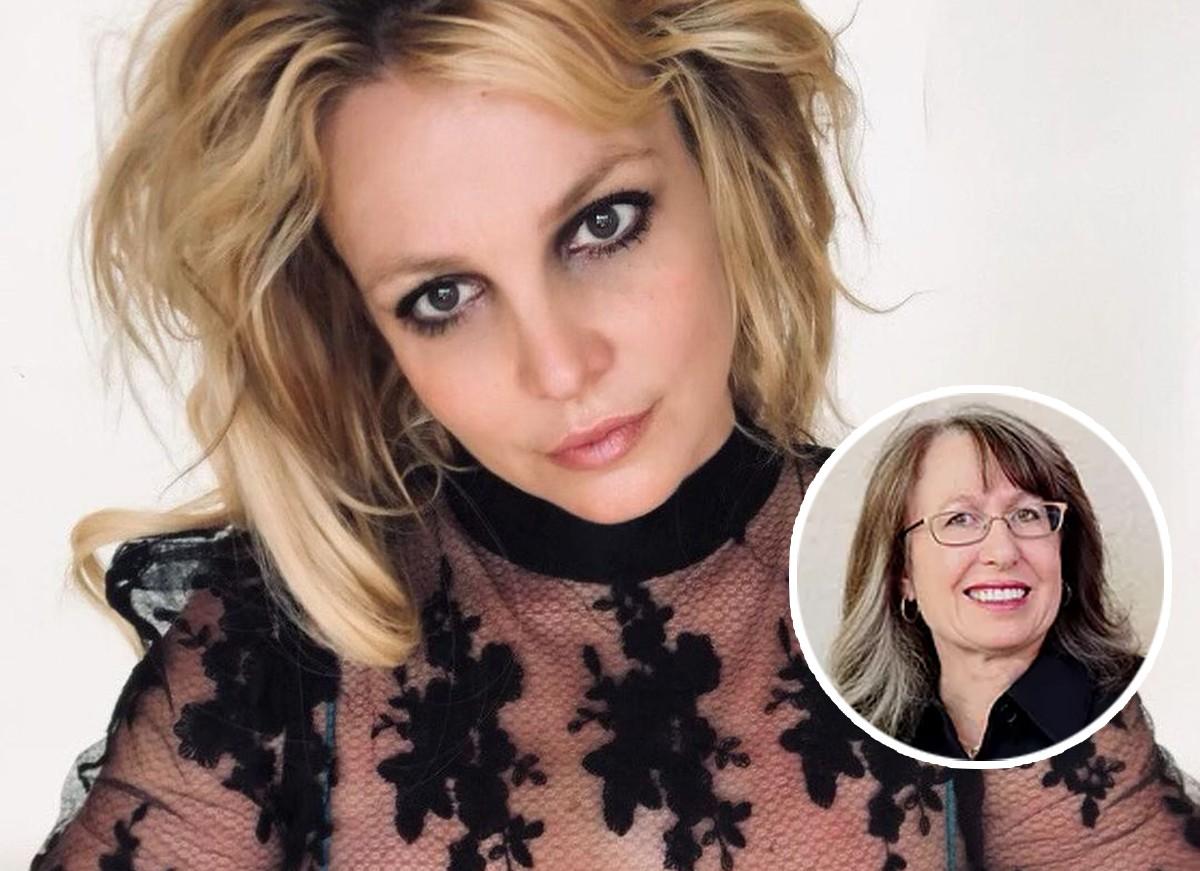 Britney Spears e a advogada, Jodi Montgomery, que é responsável por sua tutela desde 2019 (Foto: Reprodução / Instagram e Pais Montgomery)