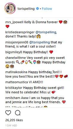 Tori Spelling (Foto: Instagram)