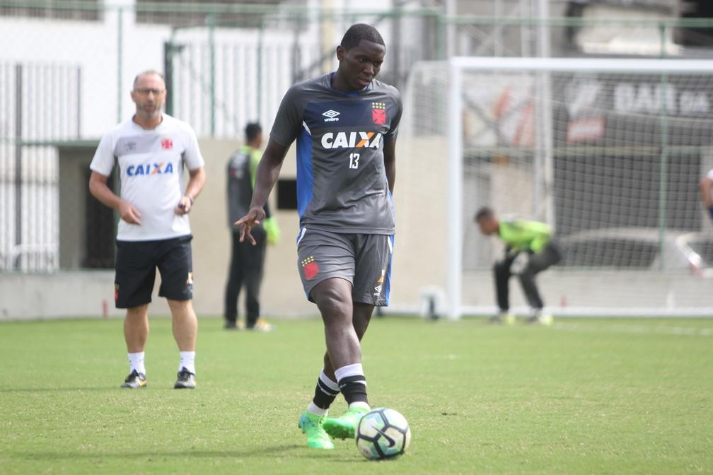 Jomar no Vasco — Foto: Paulo Fernandes/Vasco