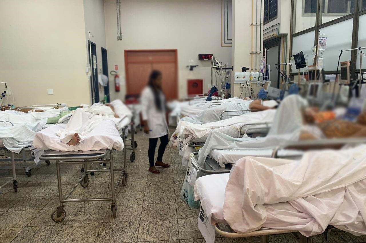 Filhos de pacientes que precisam de leitos na UTI do HGP esperam angustiados: 'Não tem vaga' - Notícias - Plantão Diário