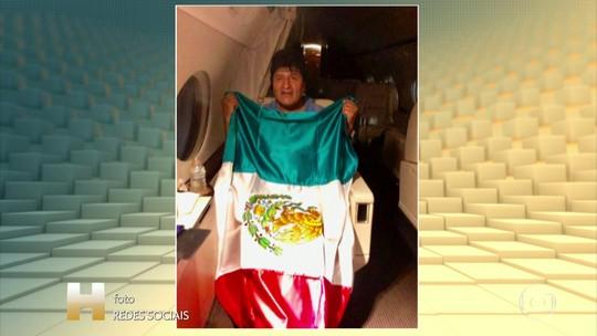 Evo Morales aceita asilo político no México