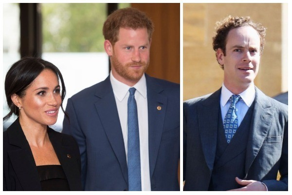 Meghan Markle, Príncipe Harry, Tom Inskip (Foto: Getty Images)