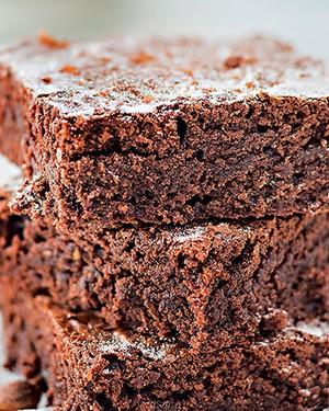 Brownie de creme de avelã (Foto: Rogério Voltan/Editora Globo)