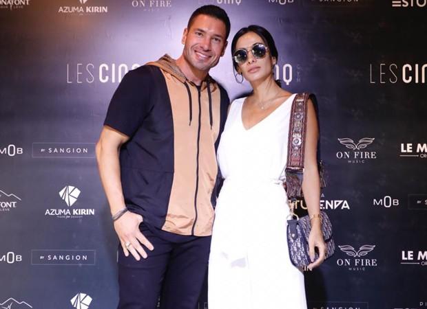 Rodrigo Sangion e Silvia Braz (Foto: Foto:  Divulgação)
