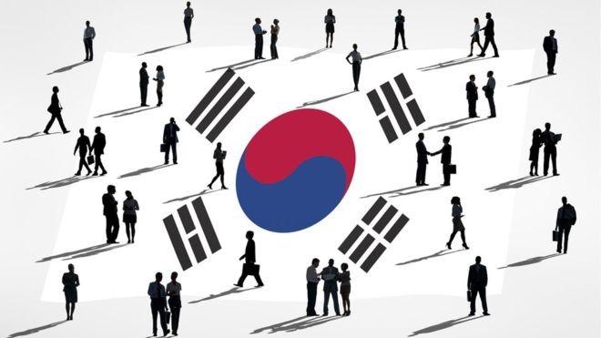 O desenvolvimento industrial e econômico da Coreia do Sul é comparável ao de muitos países ocidentais (Foto: GETTY IMAGES via BBC)