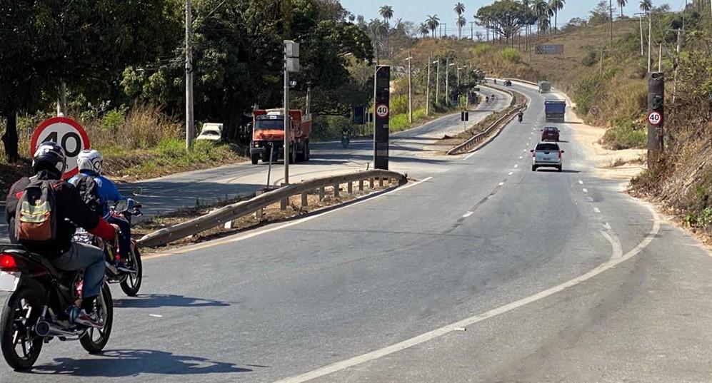 Duas rodovias de MG passam a contar com novos radares