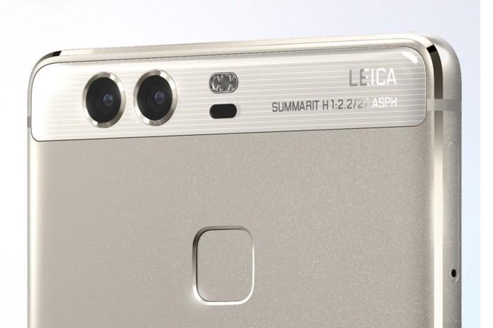 Câmera dupla do Huawei P9 é confeccionada em parceria com a Leica (Foto: Divulgação/Huawei)