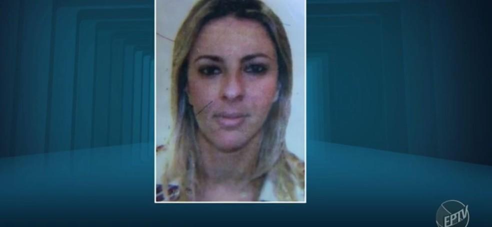 Adriana Oliveira foi morta pelo companheiro em Santa Bárbara — Foto: Reprodução/EPTV