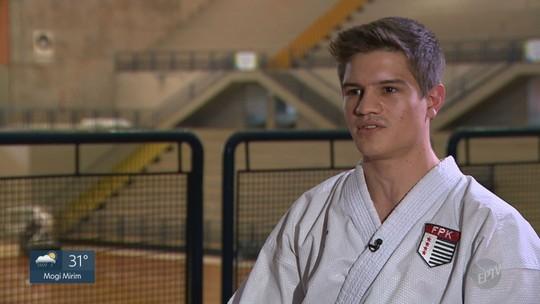 Com 200 medalhas na coleção, karateca busca vaga no Pan e sonha com Olimpíada de Tóquio