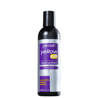 Shampoo Yellow Off, da Yenzah, por R$ 25