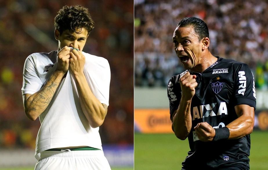 b043a53722205 ... Pedro e Ricardo Oliveira lideram nas participações em gols no  Brasileirão